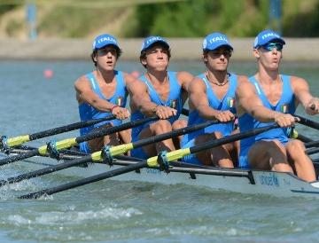 CANOTTAGGIO - Mondiali a Plovdiv: anche il 4 di coppia Junior è campione mondiale