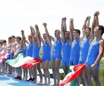 Coupe de la Jeunesse: tris Italia!