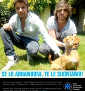 SONOHRA: testimonial di ENPA contro l'abbandono degli animali