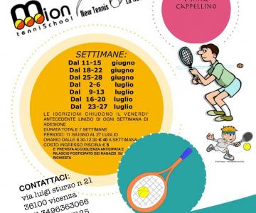 A Vicenza, i Centri Estivi di New Tennis La Rotonda