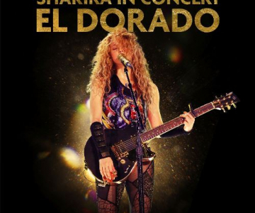 """Esce """"SHAKIRA IN CONCERT: EL DORADO WORLD TOUR LIVE"""""""