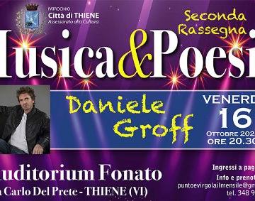 MUSICA&POESIA: IL 16 OTTOBRE AL VIA LA SECONDA EDIZIONE AUDITORIUM FONATO - THIENE (VI)